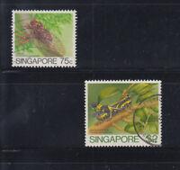 Singapore 1985 2$ Grasshopper Sc 462 Fine used