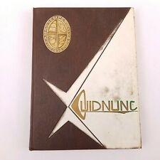 Vintage 1961 Quidnunc Yearbook Hagerstown Maryland South Hagerstown High School