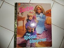 Barbie, The Special Sleepover, A Little Golden Book,1997(Children's Hardcover)