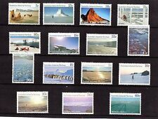 1984-87 Australian Antarctic Territory Scenes Series 1 to 3 Full Set 15 MNH