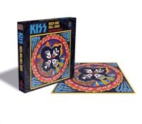 Rock Band KISS - Rock And Roll Over Studio Album 500 Piece Jigsaw Puzzle Simmons