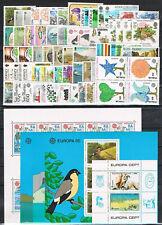 sellos Europa CEPT 1986 completo + Blocks MNH**