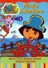 Dora the Explorer - Pirate Adventure Kids Movie DVD 2004 Musical Episode