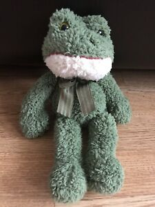 """Russ Froggy Soft Plush Toy, Measures Between 11""""-12"""". Frog Teddy"""