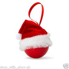 Adornos de color principal rojo Papá Noel para árbol de Navidad