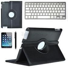 Ultra Thin Wireless Bluetooth Keyboard w/ Smart Case + Pen for iPad 2 3 4