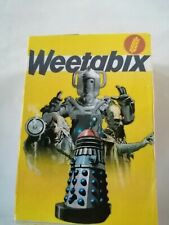 Doctor who Small Mock Up Weetabix Box. Type Two. New.