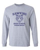 539 Hawkins High School Long Sleeve Shirt funny stranger tv show things costume