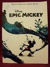 Disney Epic Mickey : Prima Official Game Guide by Prima Games  (2010 Paperback)