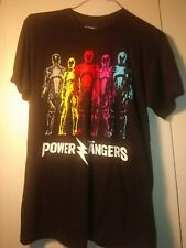pre-owned medium  Power rangers t shirt