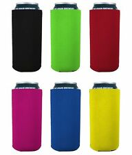 Blank Neoprene Collapsible 16 oz. Can Coolie (6, Various)
