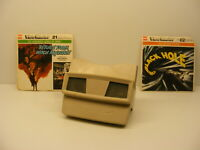 Sawyer's VIEWMASTER 3D VIEWER w 2 reel set Black Hole Return from Witch Mountain