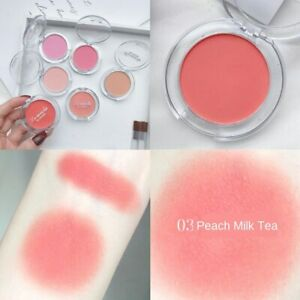 Makeup Long Lasting Matte Blusher Cheek Blush Rouge Pressed Powder Cosmetic