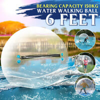 1.8M Water Walking Ball Clear Inflatable Human Hamster Ball Dance Bubble