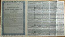 ITT/International Telephone Telegraph SPECIMEN UK Stock/Bond Certificate - Blue