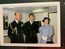 QUEEN ELIZABETH II - PRINCE PHILIP - FINE CHRISTMAS CARD - 1982 - Prince Andrew