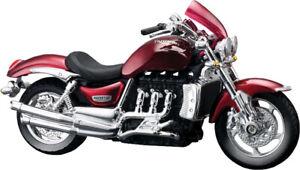 1:18 Triumph Rocket Motorbikes Diecast Model Bikes Kids Toys