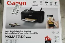 Canon PIXMA TS3129 Wireless All-in-One Inkjet Printer (MSRP $99.99)