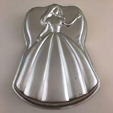 Wilton Mattel Barbie Princess Girl Dress Bake Cake Pan Mold  2105-3550 1998