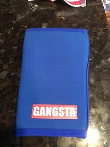 Sling Shot Gangsta Knee Sleeves by Mark Bell - Blue USED Medium