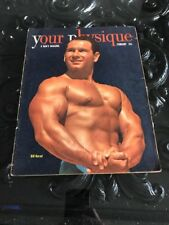 Your Physique Bodybuilding muscle magazine Bill Barad 2-50