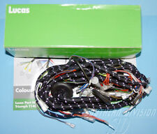 Triumph 1973-74  kabelbaum Gewebe 99-1259 LUCAS Wiring Harness braided 54961599