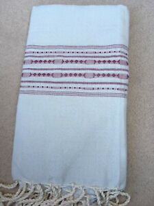 Fouta, hammam towel, Egyptian Cotton pareo, peshtemal, beach towel, cotton towel