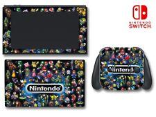 Nintendo Characters Mario Kart Link Zelda Game Decal Skin for Nintendo Switch
