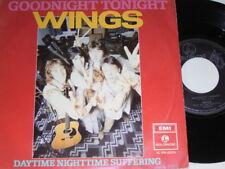 "7"" - Paul McCartney (Wings Beatles) Goodnight Tonight - Dutch diff 1979 # 5147"
