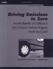 Driving Emissions to Zero: Are the Benefits of California's Emission Vechile Pro