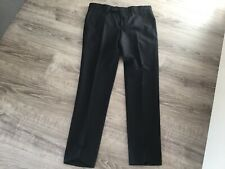 Noose & Monkey Ellroy Skinny Suit Trousers In Black - Size 30S - New