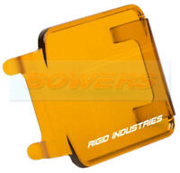 AMBER PROTECTIVE COVER FOR RIGID INDUSTRIES LED D-SERIES RADIANCE PODS DUALLY