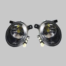 Pair Front Foglight LED Fog Lamp Light For AUDI A4 S4 Sedan B8 09-12 Allroad Q5