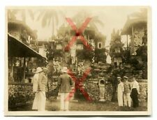 KREUZER EMDEN - orig. Foto, Haus, Besatzung, Bali, Auslandsreise 1926-28