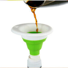 Portable Retractable Funnels Home Kitchen Funnel Convenient Cute Storage