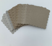 Large Bundle Of Craft Chipboard Diecut Shapes 4x4 Natural 20 Shapes