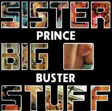 PRINCE BUSTER * Sister Big Stuff CD neu*new *Ska *1972 album with 3 bonus tracks