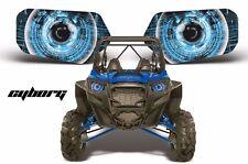 AMR Racing Polaris RZR 800/900 UTV Headlight Graphics Eye Sticker Decals CYBRG U