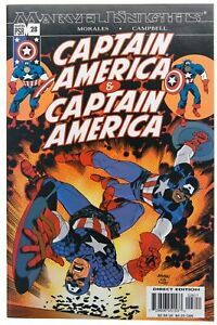 Captain America 28 NM 2004 Isiah Bradley Becky Barnes Marvel Comics Morales