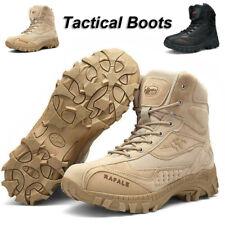 Hombre Desierto Zapatos Combate Botines Trabajo Militar Táctico Libre Montaña H