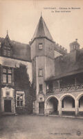 SOUVIGNY château de MONTARET cour intérieure