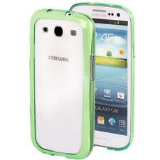 Bumper marco de protección para Samsung i9300 Galaxy s3 en verde, funda protectora, funda marco