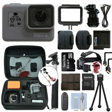 GoPro HERO6 Black Waterproof 4K Camera Camcorder + 16GB Accessory Kit