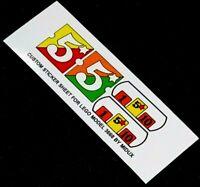 Ersatz Pre-Cut Aufkleber/Sticker für LEGO 3668 Fabuland Merry-Go-Round (1986)