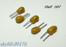 5 pezzi condensatori 5 pz Condensatore al tantalio 3,3uF 16V