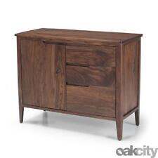 Dark Wood Tone Sideboards, Buffets and Trolleys with Doors