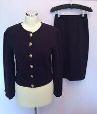 Jaeger Button Woolen Long Sleeve Women's Jumpers & Cardigans