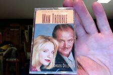 Man Trouble- film soundtrack- Georges Delerue- new/sealed cassette tape