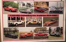 Camaro 1974-1982 History From its Original Printings Car Poster WOW! Own It!