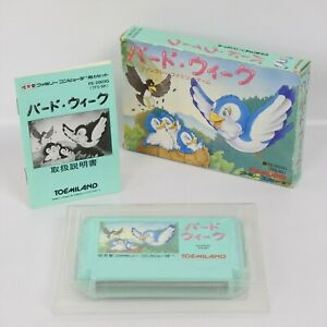 BIRD WEEK Famicom Nintendo 8392 fc